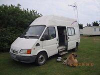 Ford Transit diesel conversion campervan.