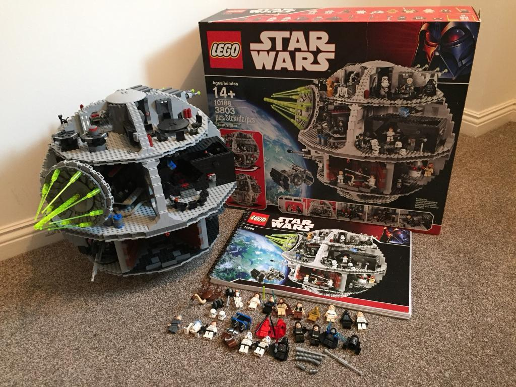Lego 10188 Death Star - Complete with Box + Instructions