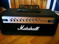 Marshall MG100HCFX with Stompware pedal