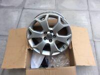 "Genuine OEM Vauxhall Astra H VXR Zafira B 18"" snowflake alloy wheels"