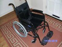Self propeld Wheel Chair, (indoor or outdoor Use)