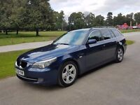 2008 BMW 520d SE Estate Manual LCI - VGC Long MOT - Heated Leather Sat Nav - PX