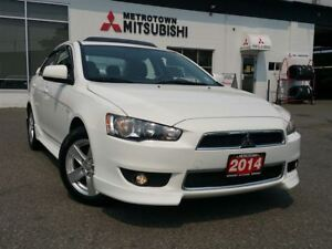 2014 Mitsubishi Lancer SE LTD; Local & No claims!
