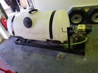 Honda mobile pressure washer with 200 gallon tank