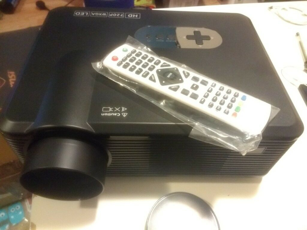 Excelvan cl720d - 720p/1080p projector with Digital TV input | in Clifton,  Bristol | Gumtree