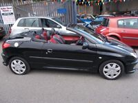 Peugeot 206 CC 1.6 S 2dr VERY LOW MILEAGE CONVERTIBLE PART EXCHANGE TO CLEAR