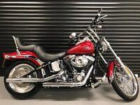 Harley Davidson FXSTC Softail Custom 1584cc 6-Speed 5,721 dry miles mint condition