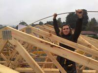 Young carpenter seeking work