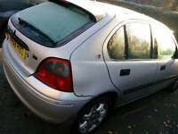 Rover 200 8 months mot perfect car as only done 90k