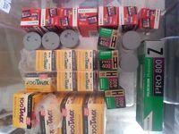 35mm film; tmax; kodak eb; fuji 800z; kodak portra 160; portras 800 agfa precisa; fuji 400h
