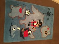 Boys pirate rug from Next