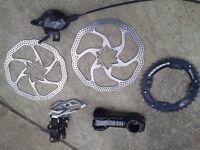 Mountain bike bits and bobs