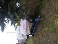 1978 17.5 ft glastron with trailer