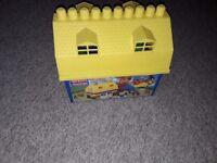 Mega blocks house
