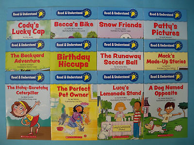 Read Understand Comprehension Childrens Books Learn to Read Lot 12 NEW
