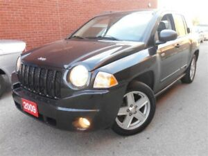 2009 Jeep Compass SPORT, 2.4L, LOW KM, POWER GROUP. CLEAN CARPR.