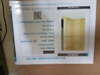 Wetroom tempered glass