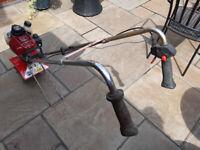Honda GX25 Mantis 4 stroke Petrol Rotovator + lawn Aerators + lawn edgers