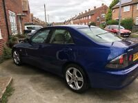 LEXUS IS200 AUTO, BLUE, LOW MILEAGE 62850,NEW CAMBELT MAR 17, MOT FEB 18.