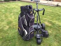 Powakaddy FW2 Electric Trolley with Bag