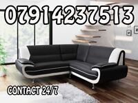 PALERMO SOFA RANGE CORNER SOFA 3+ 2 SETS ARM CHAIRS AND FOOT STOOLS 5