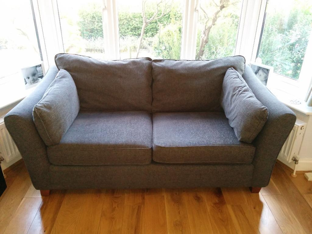 Marks And Spencer Fenton Sofa Gunmetal Grey Chenille 2 3 Seater M Amp S In Greenwich London