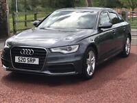 Audi A6 sline 2012 62 plate