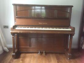 Old Squire Longson Piano for sale. Last tuned in 2014.