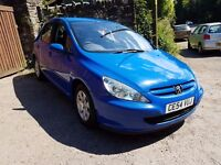 2004 peugeot 307 hdi great on fuel ideal family car