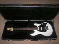 7d251003de MusicMan / Music Man Guitar Hard Case for Silhouette , Sterling and Silo Electric  Guitar.