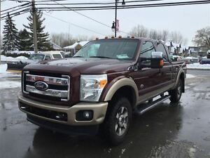 2011 Ford F-250 LARIAT KING RANCH TOIT GPS  CUIR 22900$ 514-692-