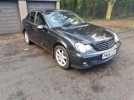 2007 Mercedes c200 cdi automatic 6 months mot