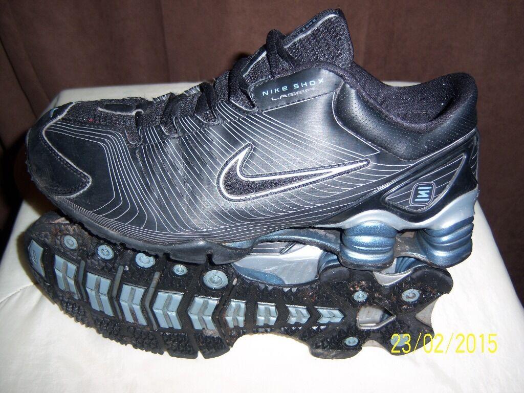 ... Nike Shox NZ SI Plus - Boys  Grade School - Black   Grey ... c23b41cc5