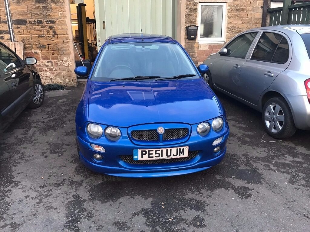 MG ZR 1.8 160 In Blue 101000 miles Full Mot Would make a Perfect ...