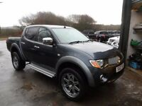 2006 MITSUBISHI L200 ANIMAL GREY , 3 MONTHS WARRANTY , 155K , MANUAL , FREE UK DELIVERY
