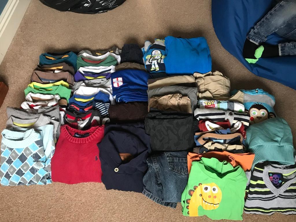Boys 3-4 clothes bundle
