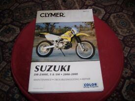 various suzuki drz400 bits