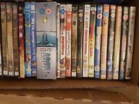 Box of 54 DVD's