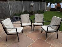 Patio / Garden furniture/4 Garden Chairs