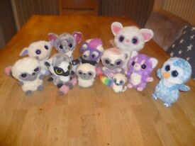 11 Soft toys 8 Yoohoo & Friends also 3 Ty.