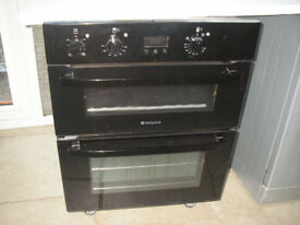 HOTPOINT Built-in Cooker / Shiny Gloss Black Effect