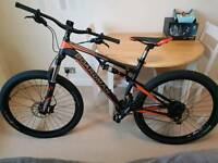 "BRAND NEW 18"" BOARDMAN TEAM FULL SUSPENSION MOUNTAIN BIKE 27.5"""