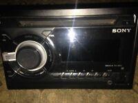 Sony WX800UI car radio CD player