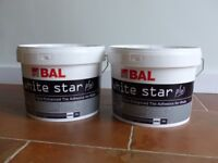 20 ltrs of BAL white wall tile adhesive for dry and wet areas. Upto 13.2 sqm coverage