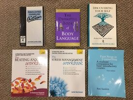 Counselling/Psychotherapy/Personal Development/Teaching/Coaching/Mentoring Books - FROM £2