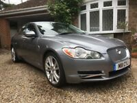 2009 Jaguar XF 3.0 Luxury Grey Diesel FSH