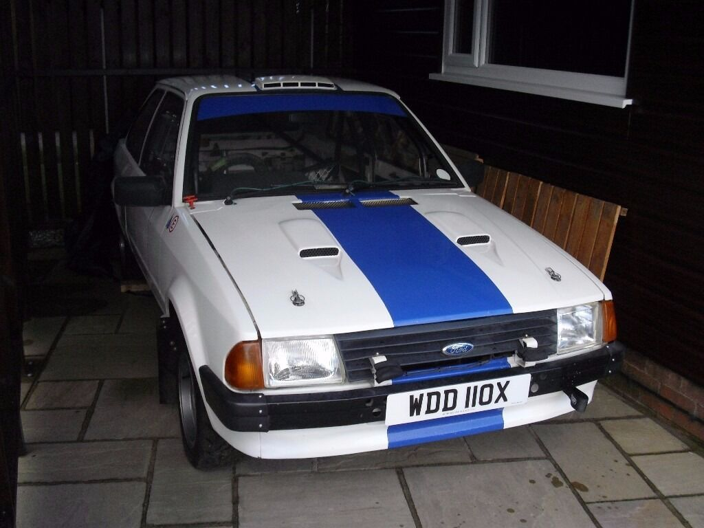 Ford Escort G3 rally car. Ideal clubman spec or entry level rear ...