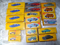 DINKY NOREV 19 MODELS ALL MINT BOXED