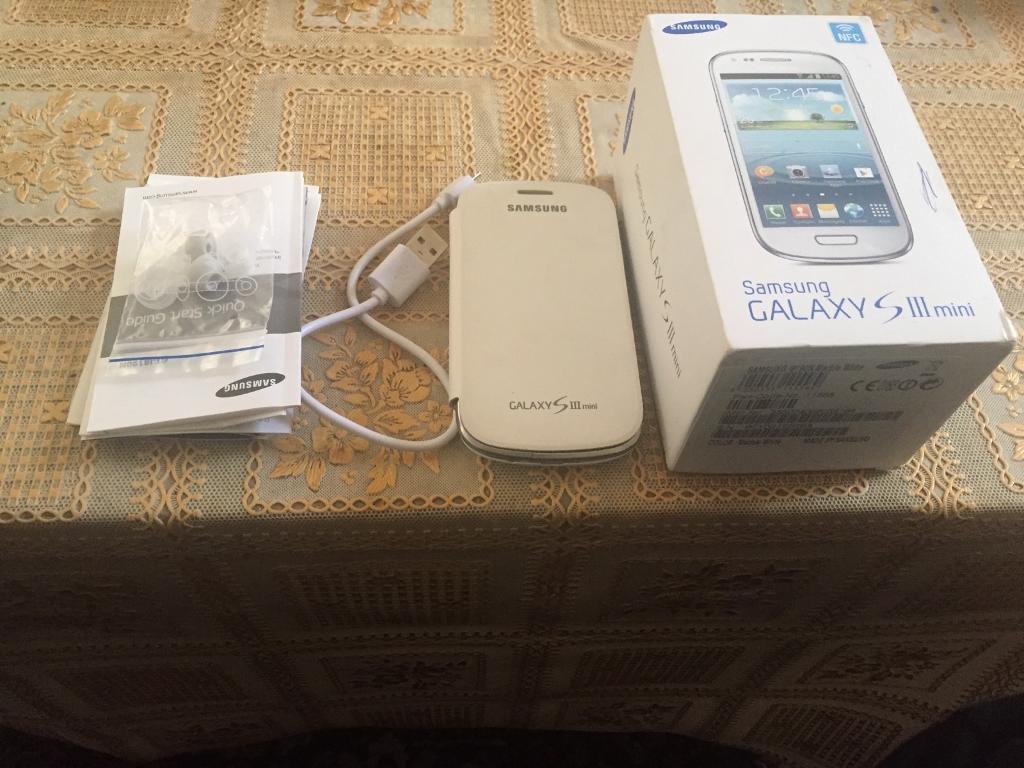 Mobile phone Samsung galaxy s3 mini unlocked