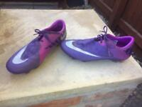 Nike mercurial men football boots size 9